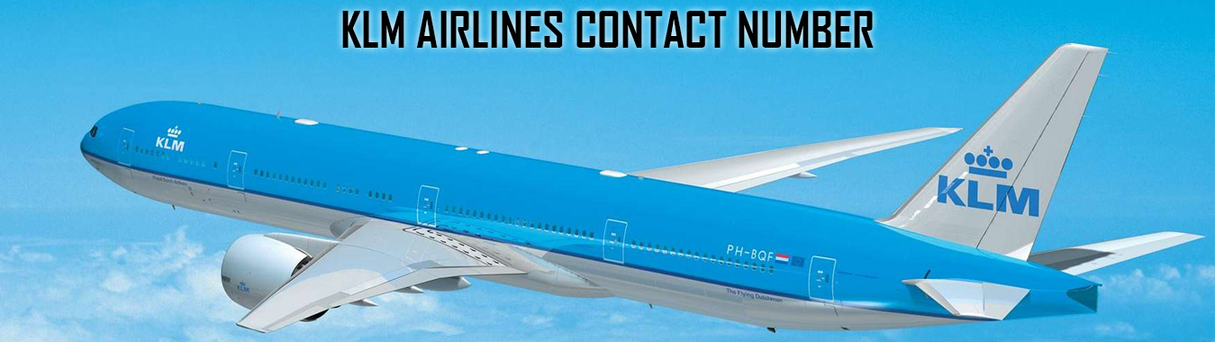 KLM airlines customer service number